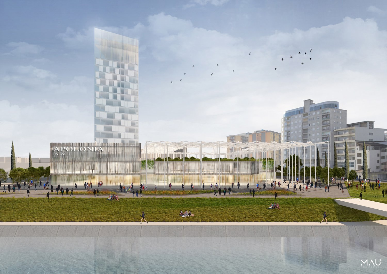 Waterfront, north facade MAU Architecture