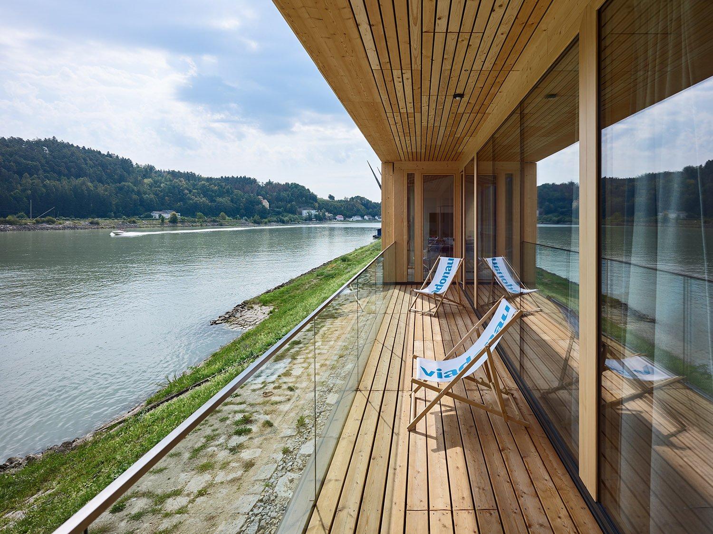 Via Donau administration terrace Bruno Klomfar