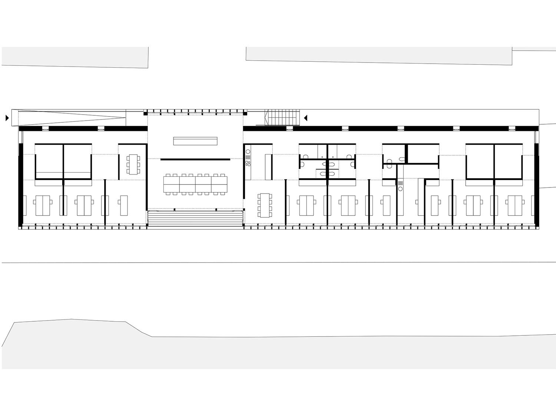 Via Donau administration - ground floor 2 Dietrich | Untertrifaller}