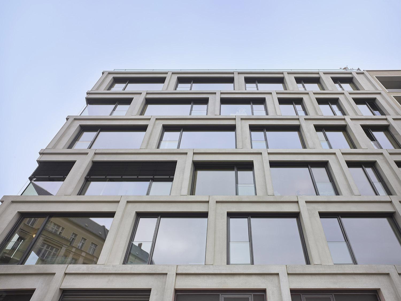 Detail of the façade Roland Halbe