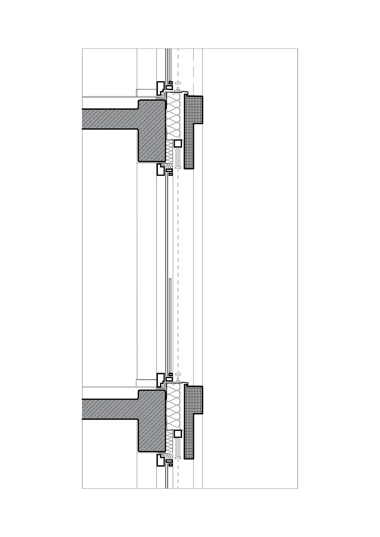 Detail section TCHOBAN VOSS Architekten}