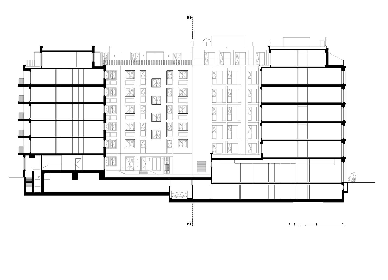 Section BB TCHOBAN VOSS Architekten}