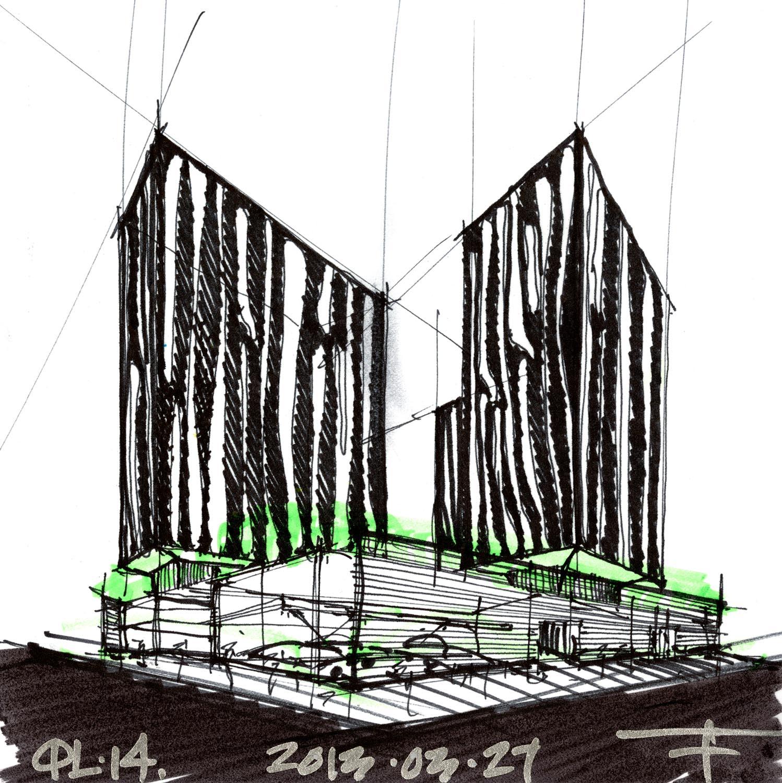 Preliminary Sketch FGP Atelier}