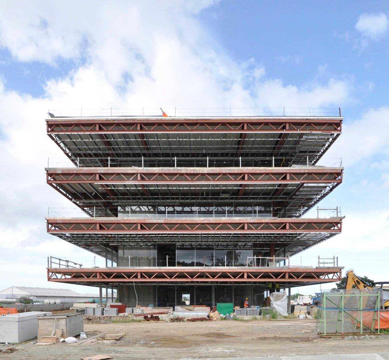 Building under construction Ruiz Pardo - Nebreda}