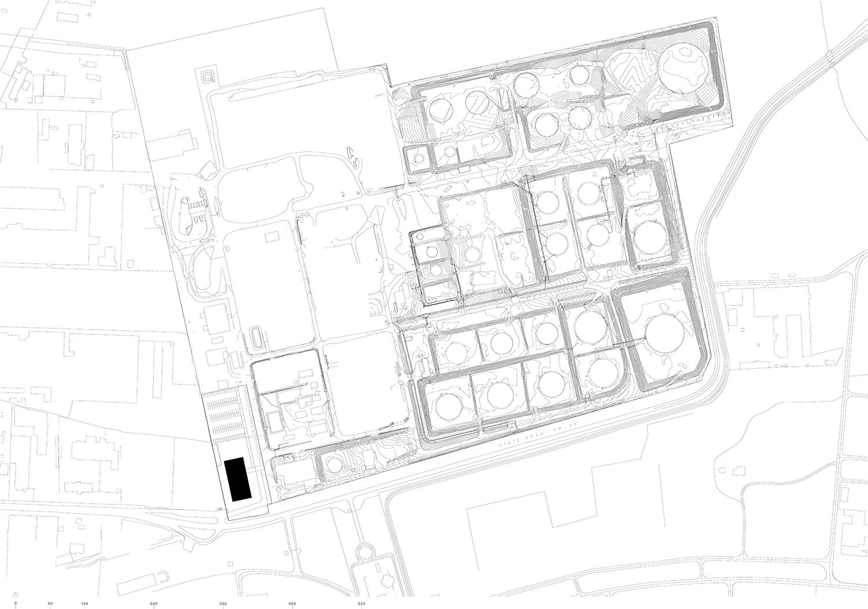 Location plan Ruiz Pardo - Nebreda}