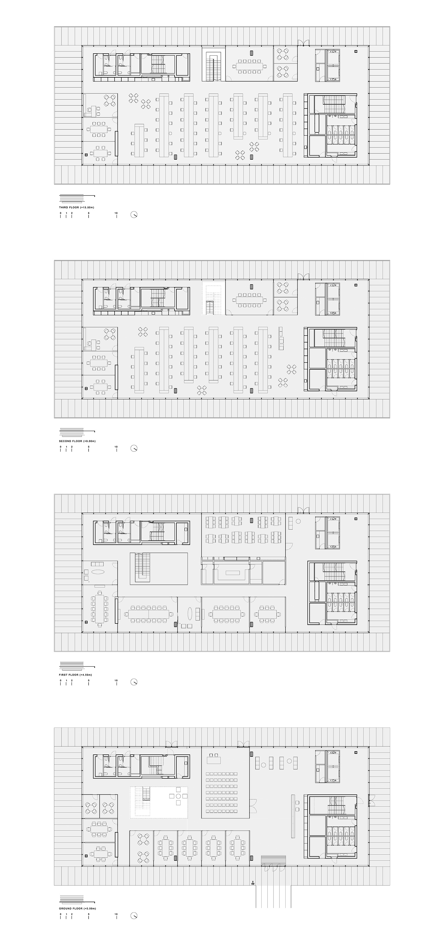 Floor plans Ruiz Pardo - Nebreda}