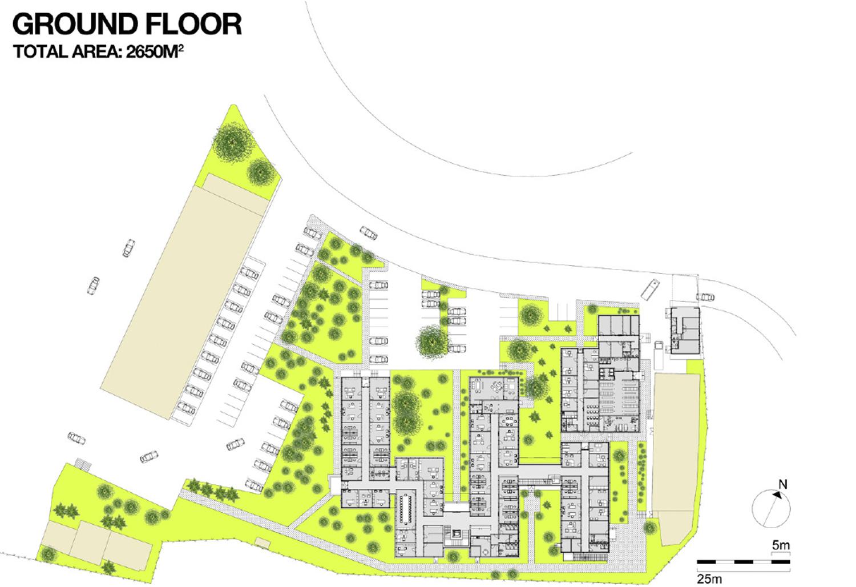 ground floor plan gad}