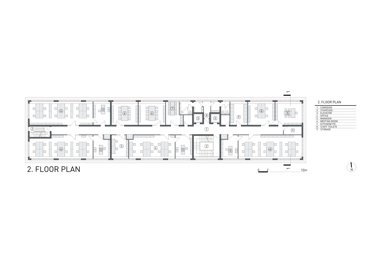 2 floor plan Rechner Architects}