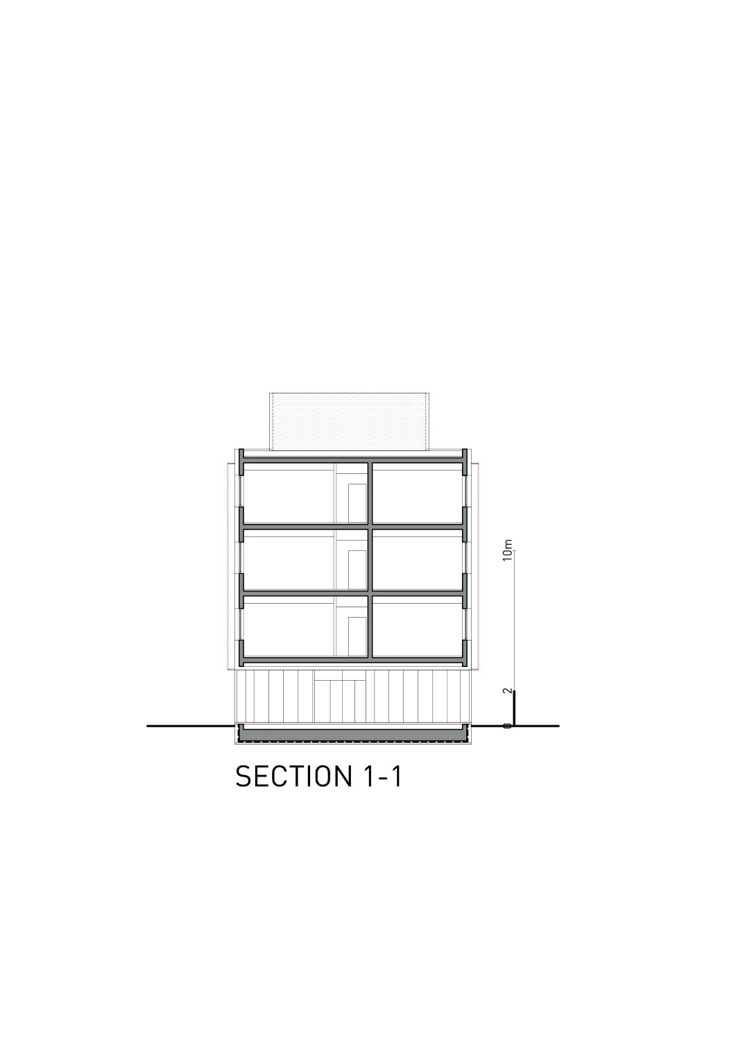 Section 1-1 Rechner Architects}