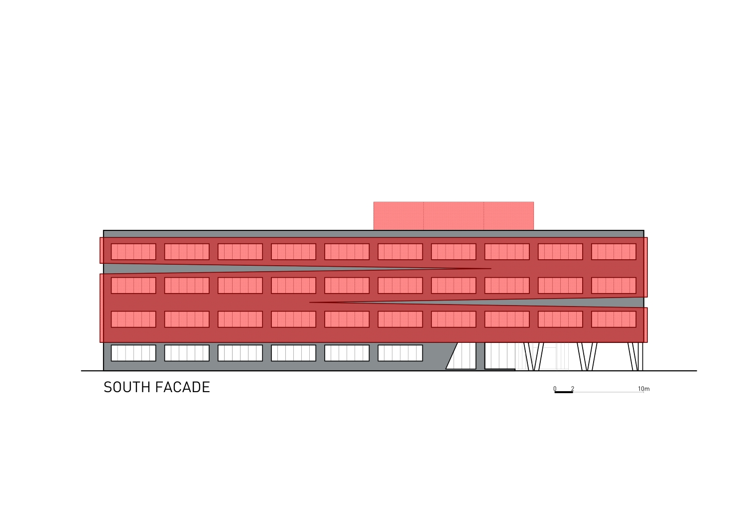 South facade Rechner Architects}