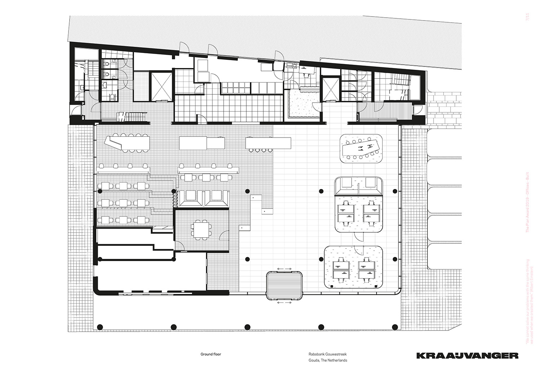 Ground floor © Kraaijvanger Architects}