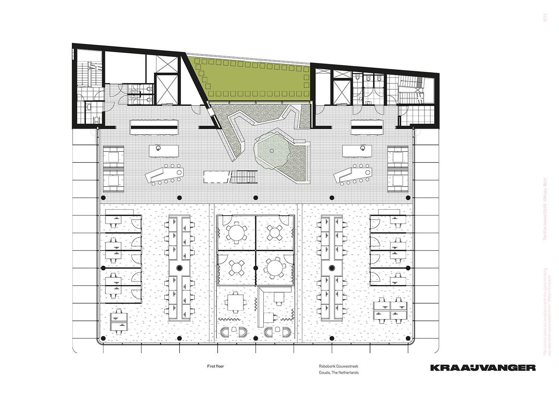 First floor © Kraaijvanger Architects}