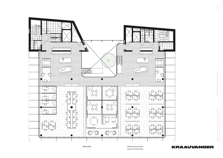 Second floor © Kraaijvanger Architects}