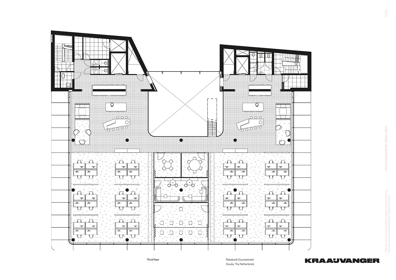 Third floor © Kraaijvanger Architects}