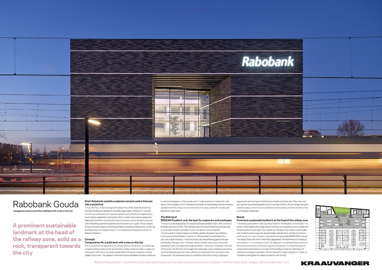Rabobank Gouwestreek - panel 01 © Kraaijvanger Architects}