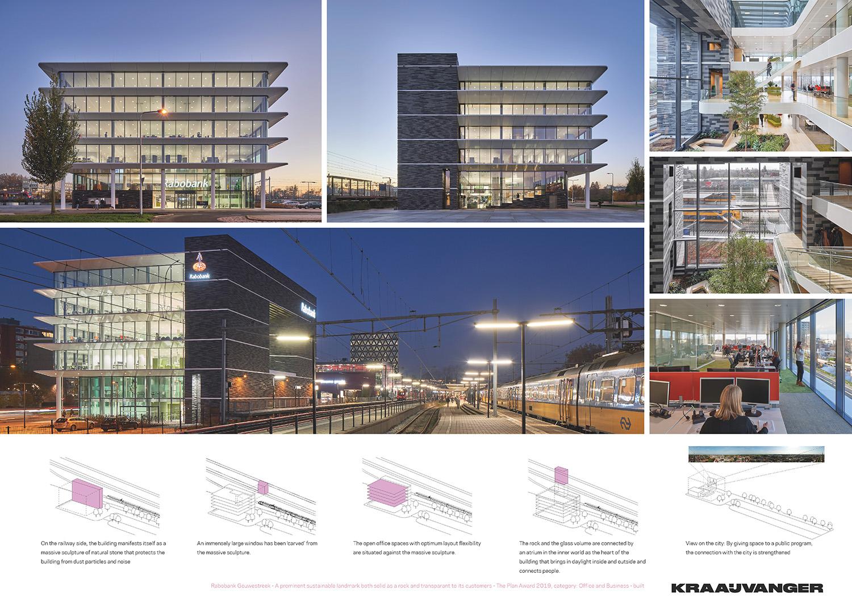 Rabobank Gouwestreek - panel 02 © Kraaijvanger Architects}