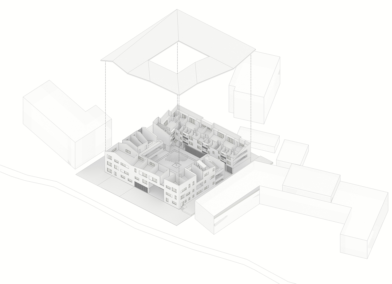 Axonometric EID Architecture}
