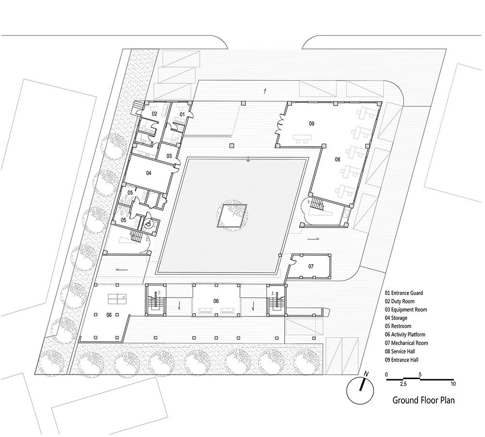 Ground floor plan EID Architecture}