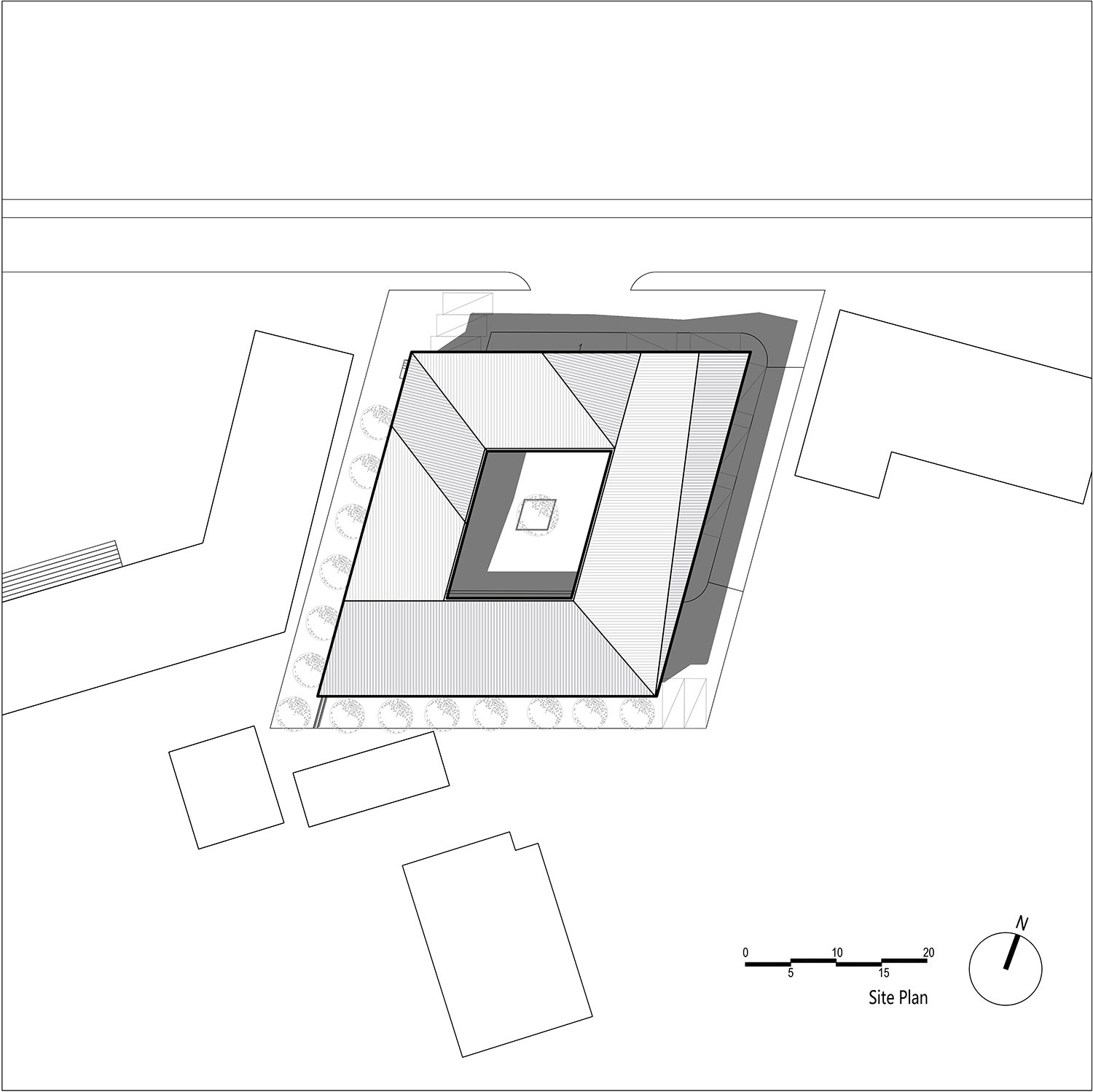 Site plan EID Architecture}