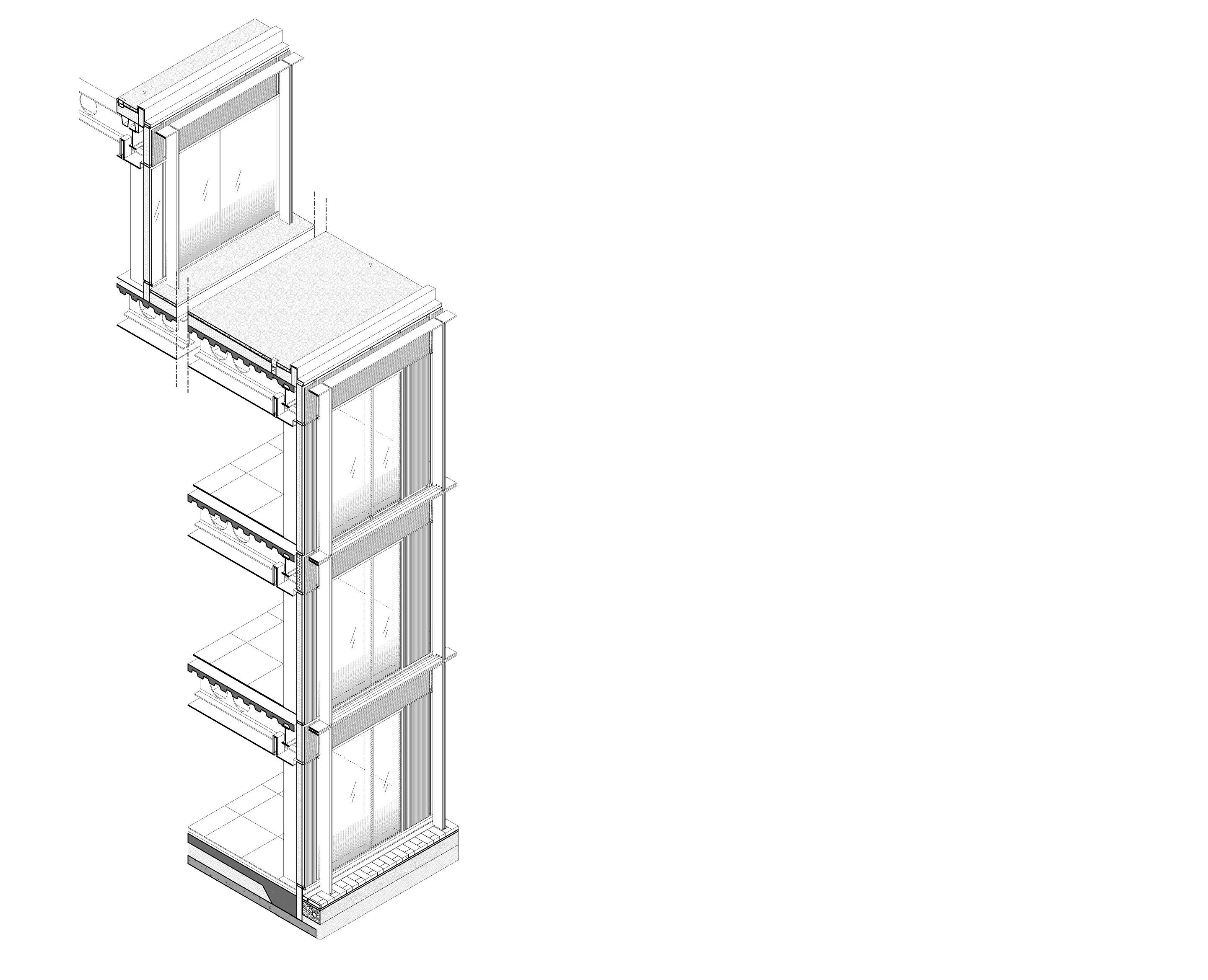 Axonometric drawing 2 Bogle Architects}