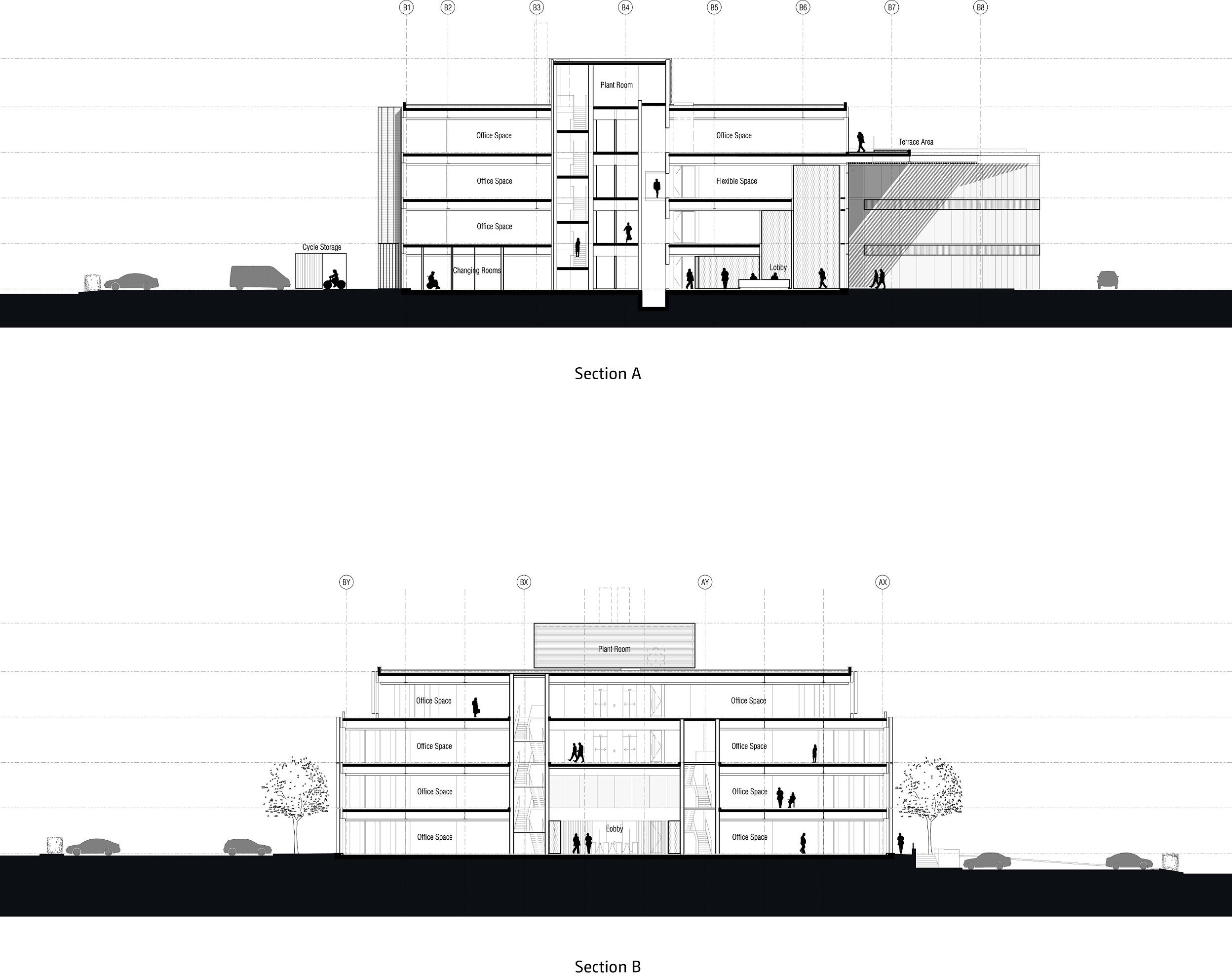Sections 1-2 Bogle Architects}