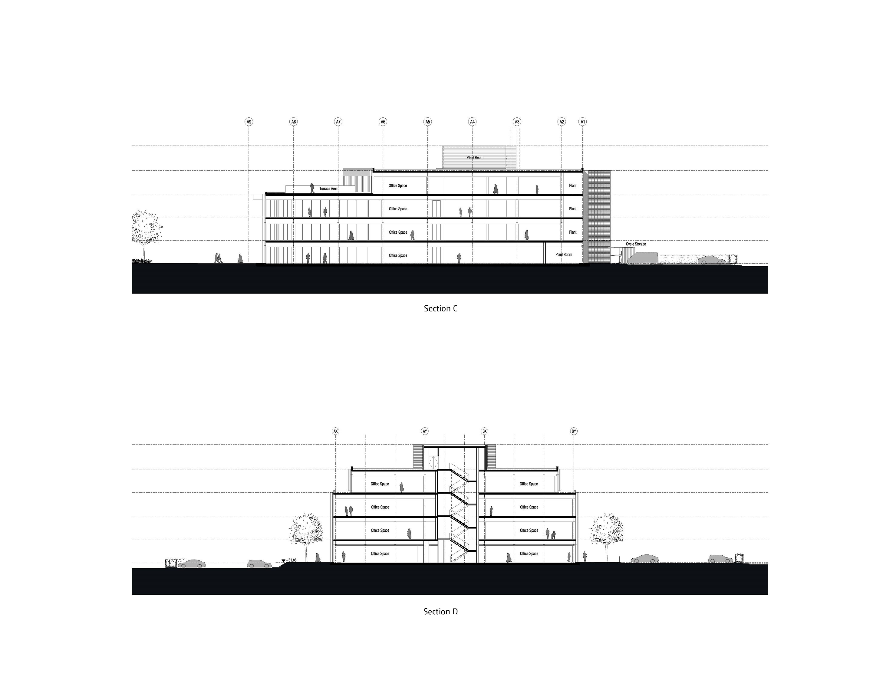 Sections 3-4 Bogle Architects}
