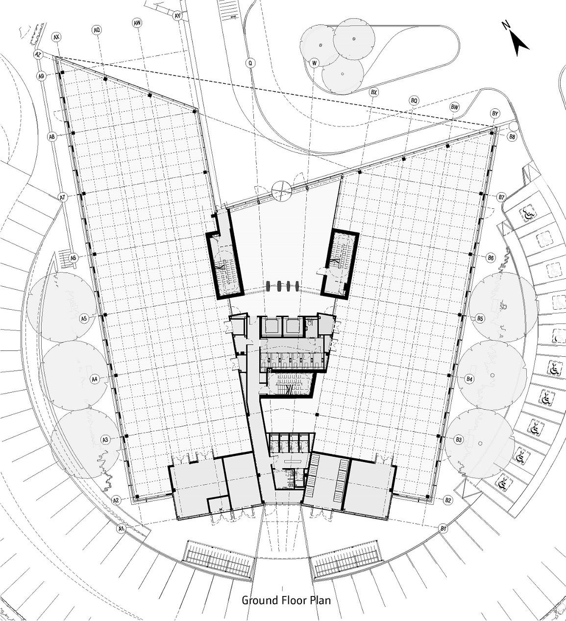 Ground Floor Plan Bogle Architects}