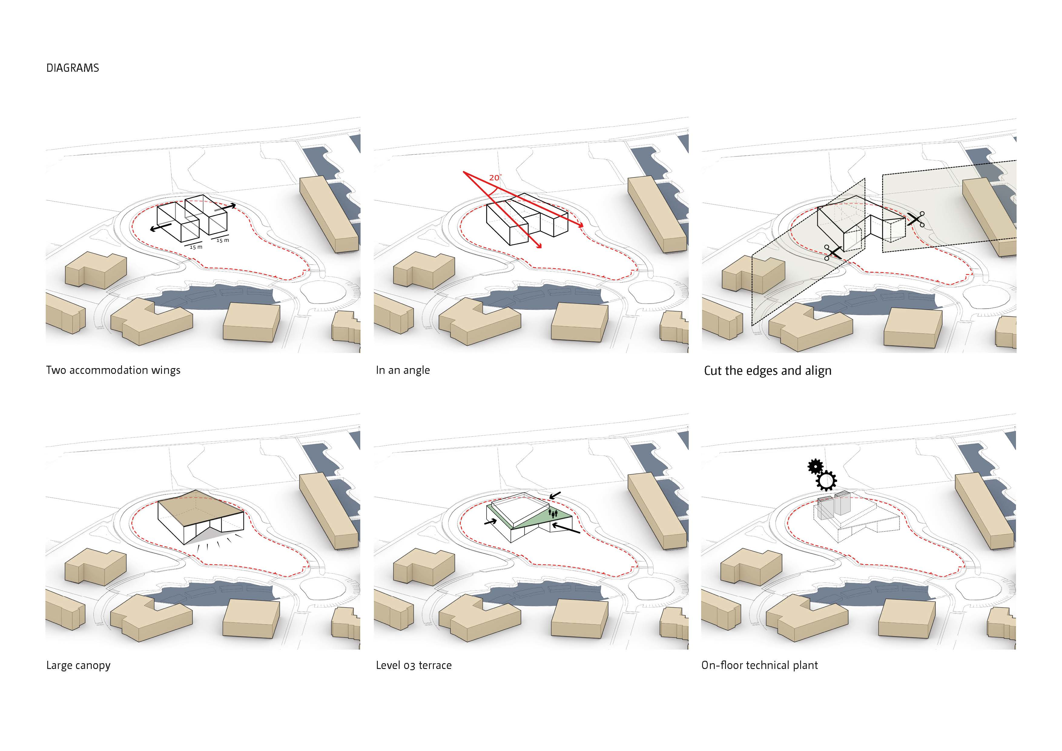 Grouped diagrams Bogle Architects}