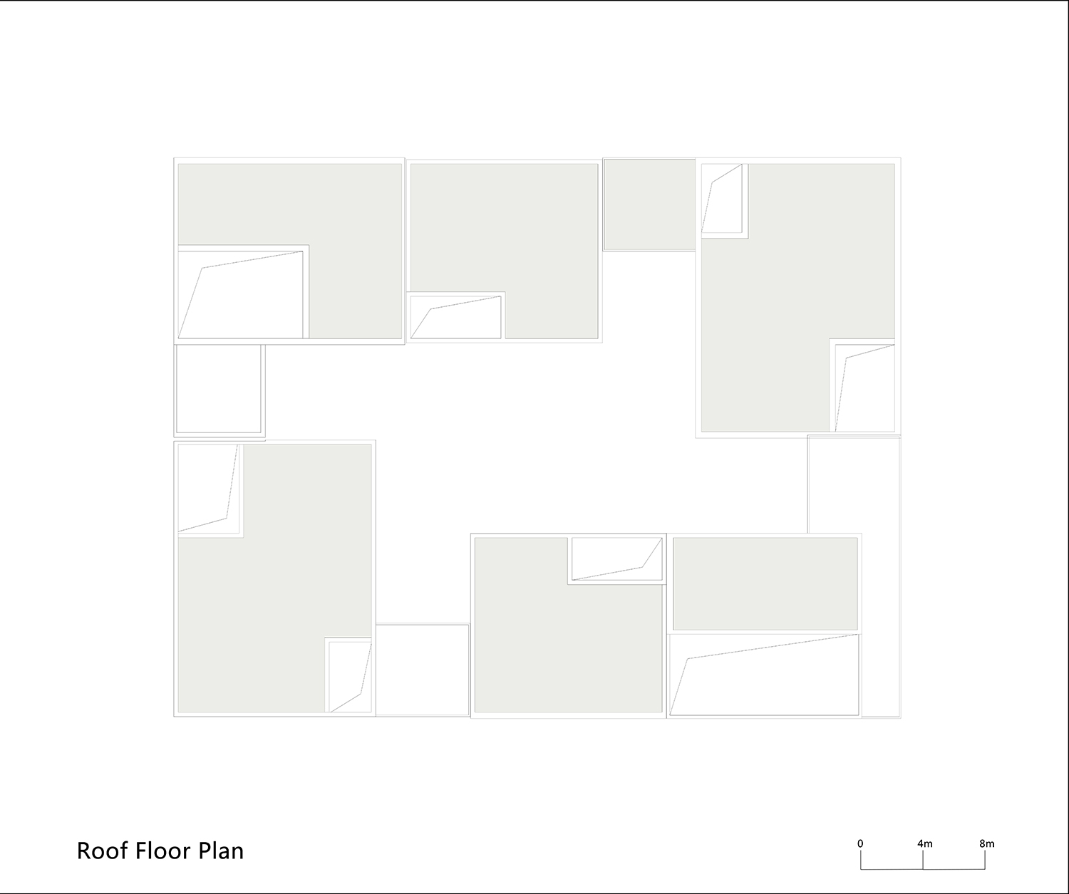 Roof Floor Plan of One Building WSP ARCHITECTS}