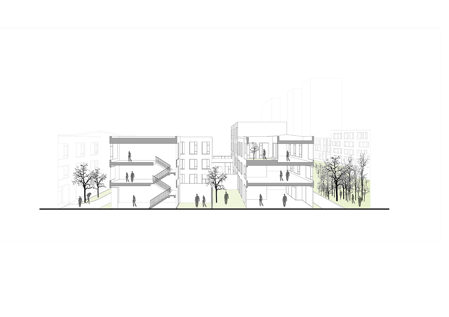Perspective Drawing WSP ARCHITECTS}
