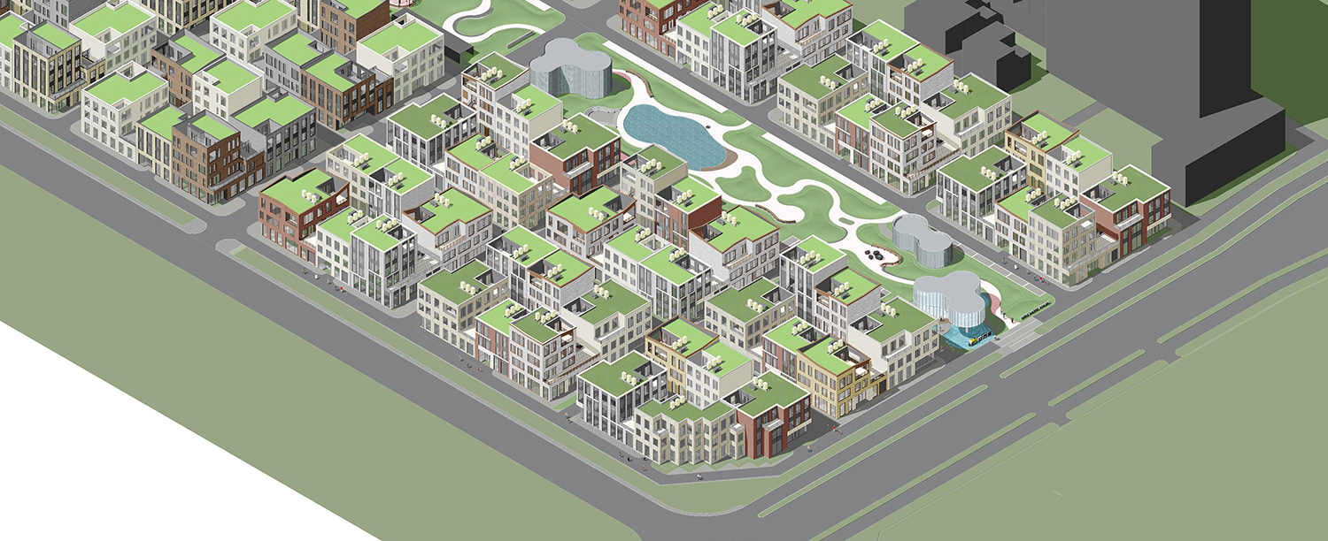 Axonometric drawing WSP ARCHITECTS}