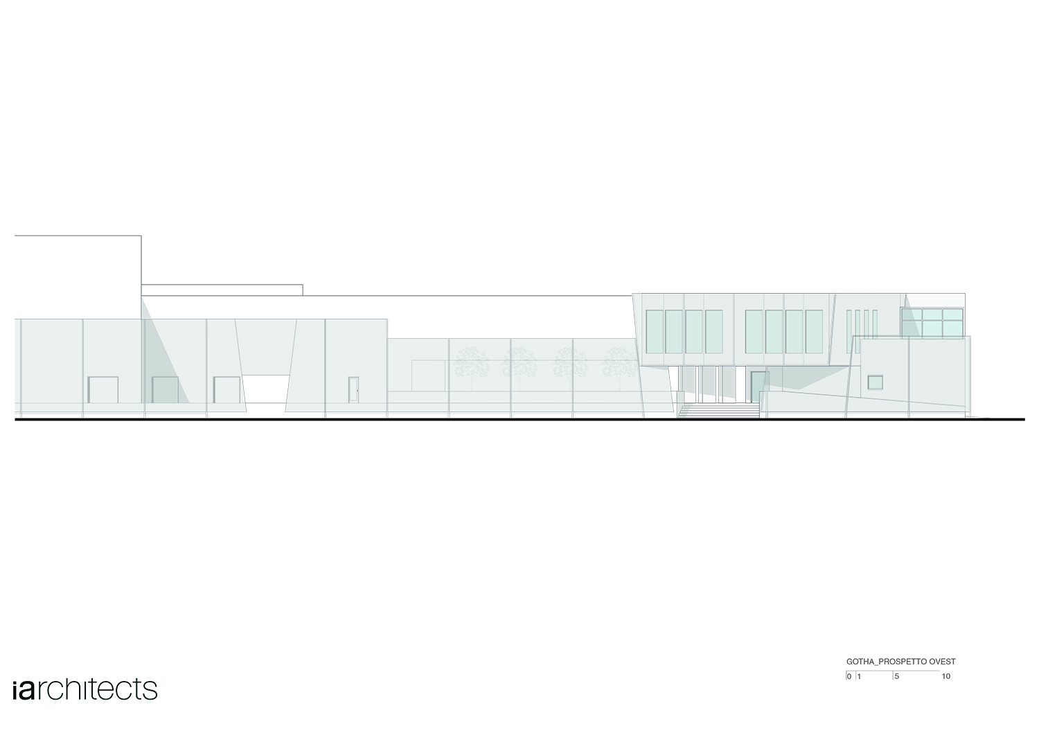 Prospetto ovest Iarchitects}