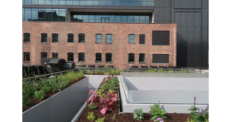 Indoor/outdoor connectivity CetraRuddy Architecture}