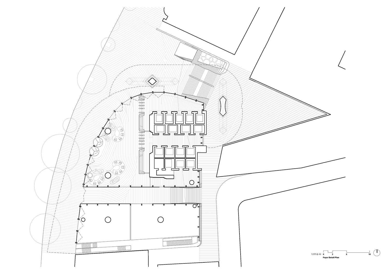 Foyer Detail Plan fjmt}