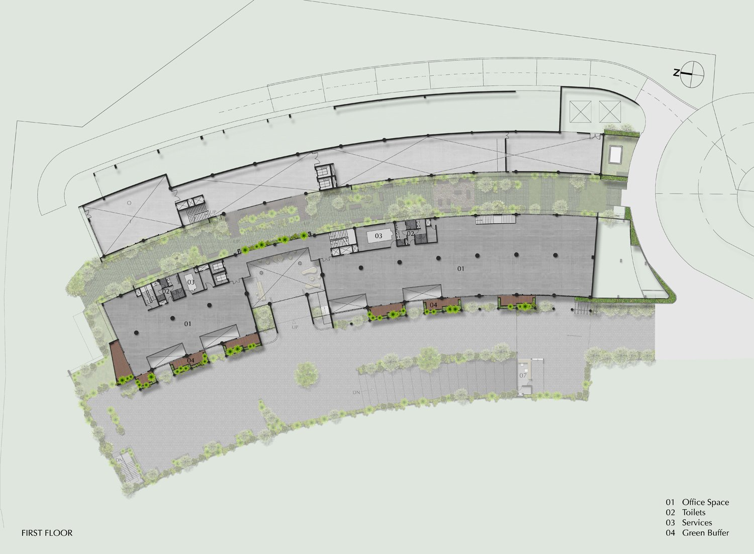 First Floor Plan STAPATI}