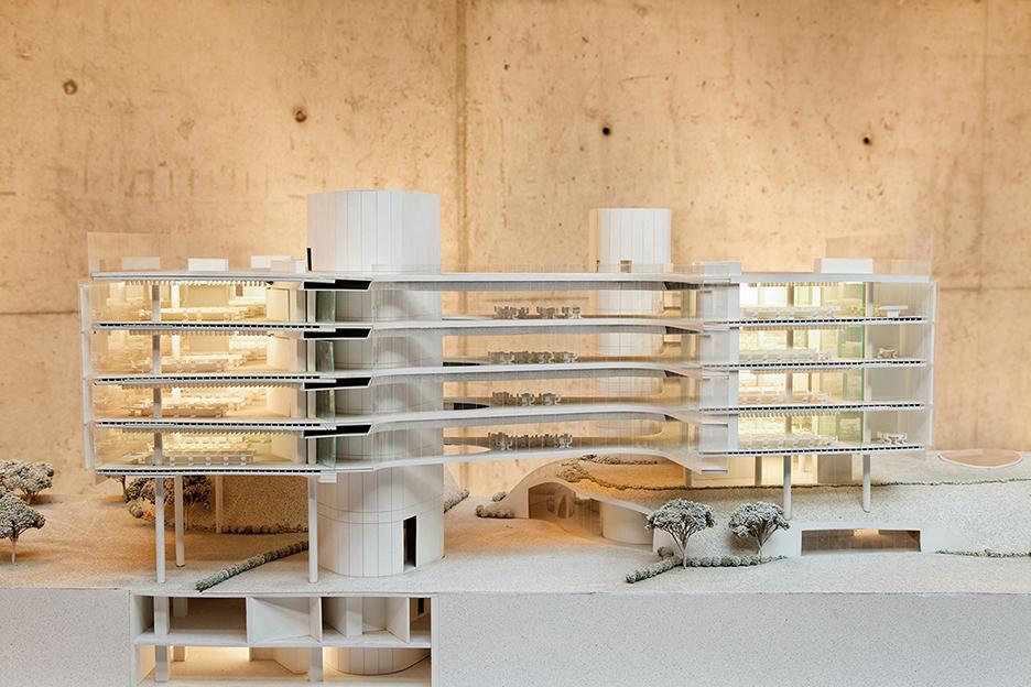 Section Model 1:50 Cemal Emden}