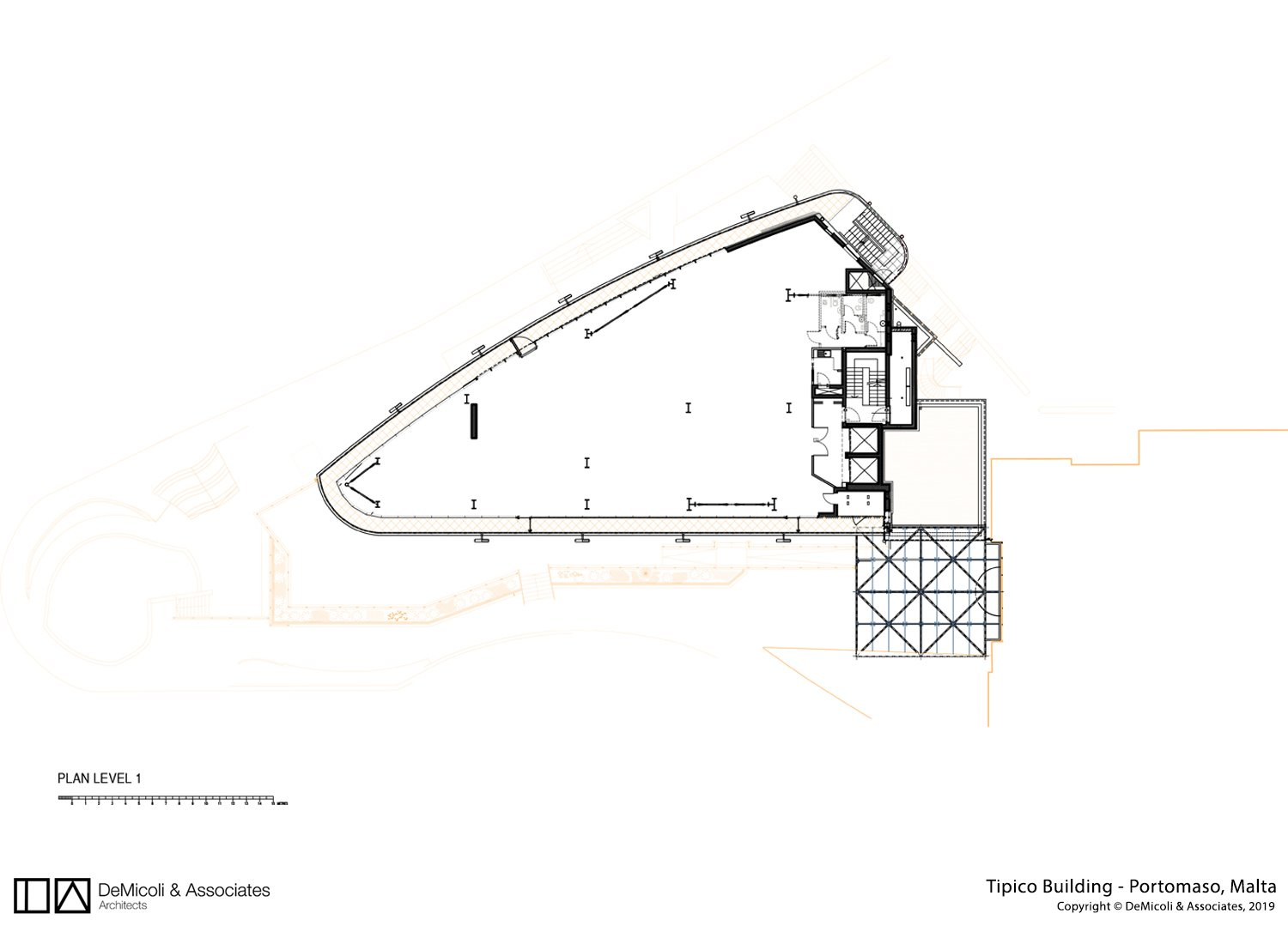 Plan level 1 DeMicoli & Associates}