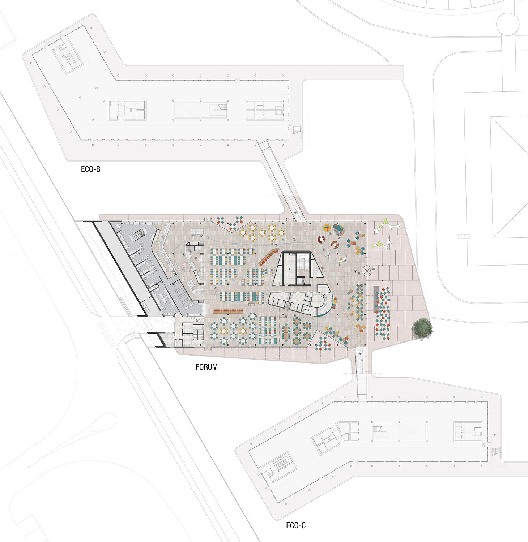 FDG_27_pianta-forum Frigerio Design Group}