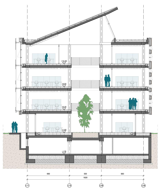 FDG_28_sezione-tipo-ecouffici Frigerio Design Group}