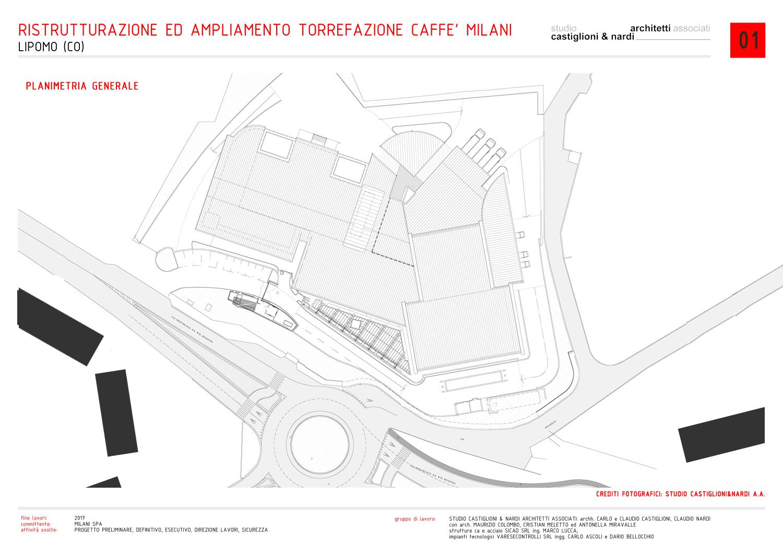 planimetria generale studio castiglioni & nardi architetti associati}