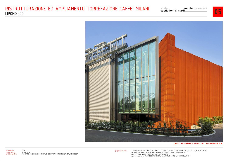 l'angolo tra la serra/esposizione ed il magazzino di stoccaggio studio castiglioni & nardi architetti associati