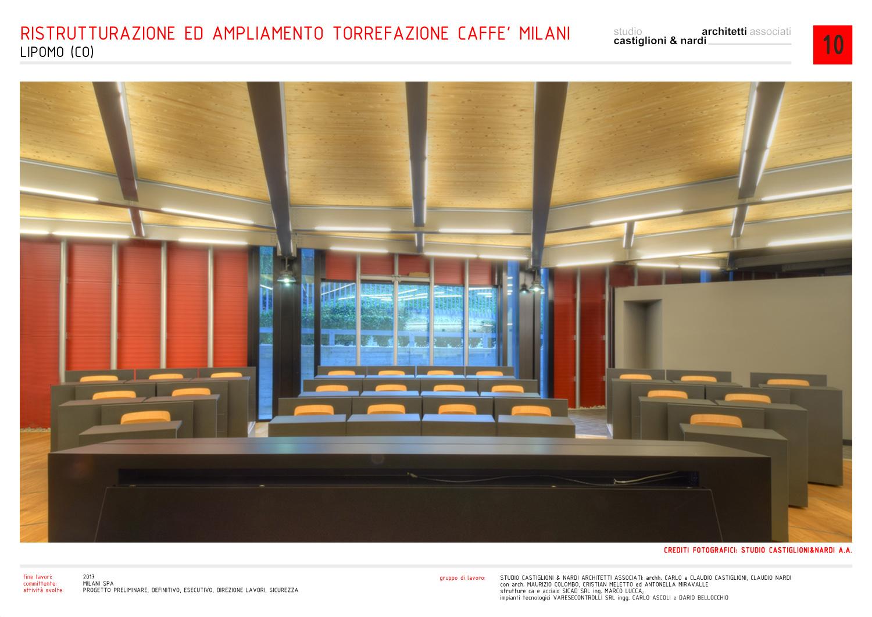 aula per la formazione degli operatori professionali studio castiglioni & nardi architetti associati