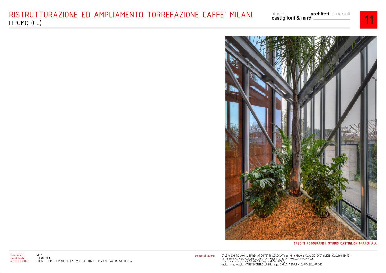 dettaglio della serra/esposizione del caffè studio castiglioni & nardi architetti associati