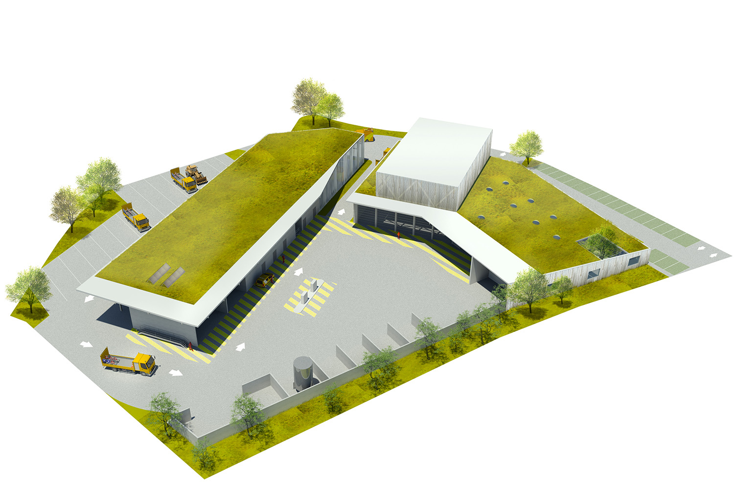 Axonometric view RAUM}