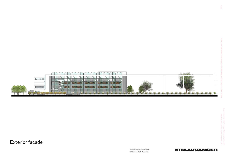Exterior facade © Kraaijvanger Architects}