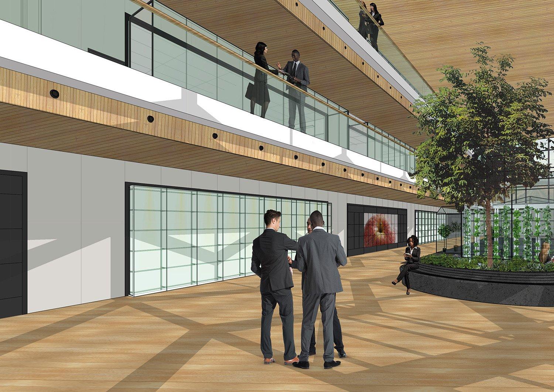 Impression © Kraaijvanger Architects}