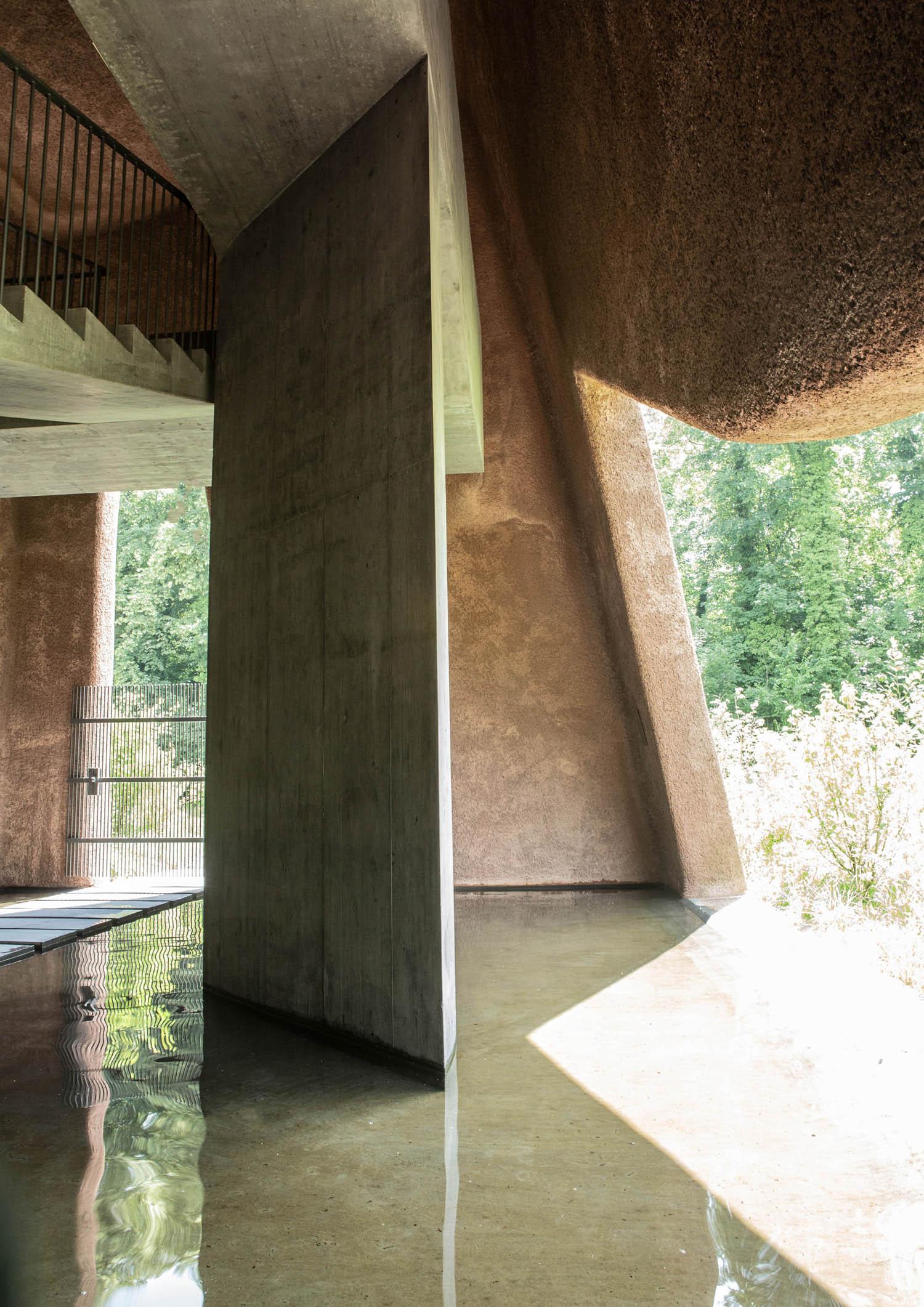 Interior view Aaron Kohler