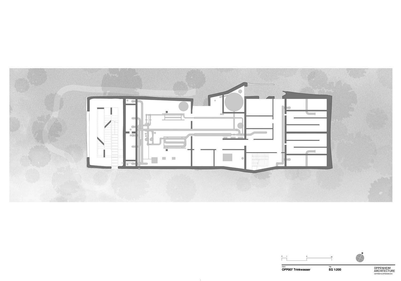 Plan level 1 Oppenheim Architecture}
