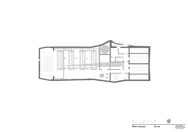 Plan level 2 Oppenheim Architecture}