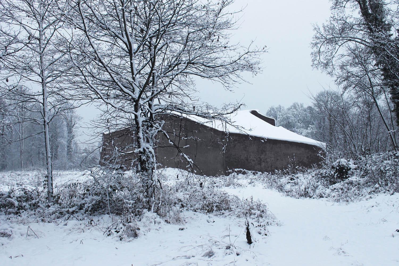 Winter exterior view Beat Huesler